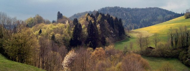Montmelon Jura In Spring