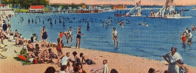 Summer Beach Onset Bay MA