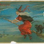 Old Halloween Card