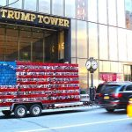's_Make_America_Stronger_Together_installation_at_Trump_Tower