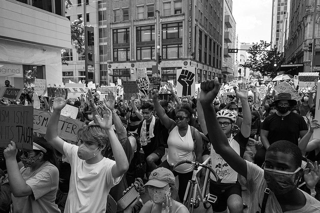 George Floyd Protest in Dallas