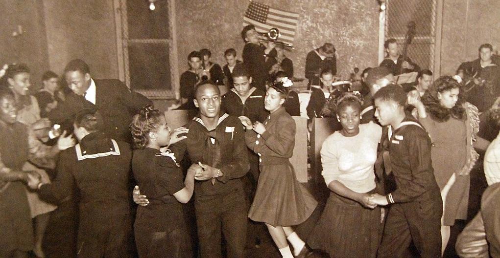 Navy Dancers in Harlem, 1944