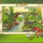 St Patricks Day Postcard 1912