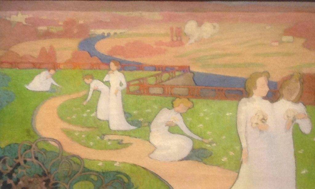 Painting Denis April Road of Life